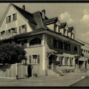Hotel Bahnhof in Trubschachen (Postkarte)